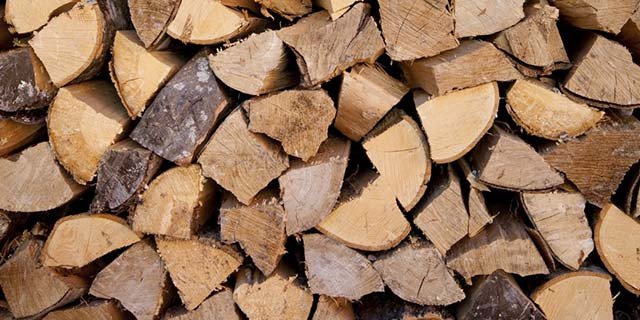 firewood woodchip